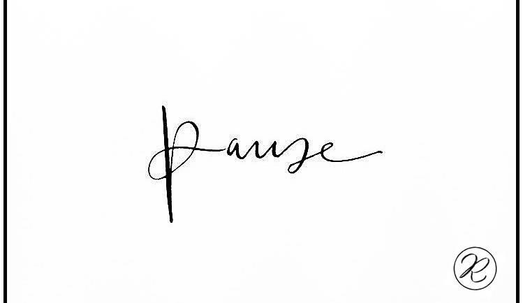 Even pauze